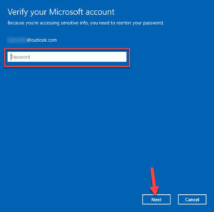 Change Password On Windows 10 Of Your Microsoft Account In Settings App