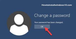 Change Password Windows 10 Of Your Local Account In CTRL+ALT+DEL secure screen