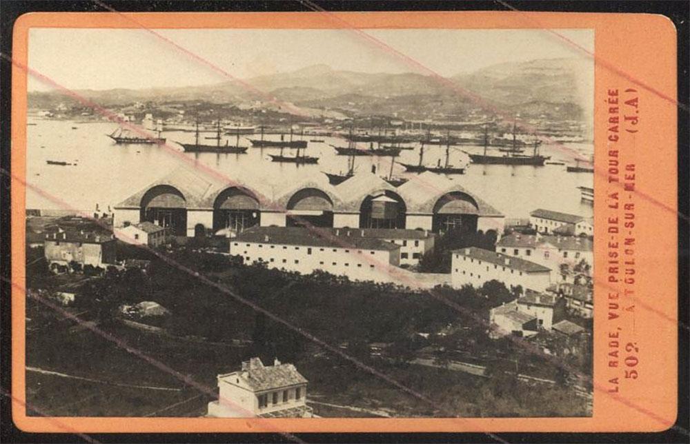 Les cales de l'arsenal du Mourillon