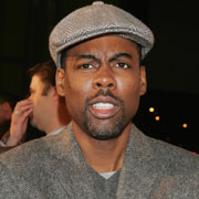 Chris Rock angered Sean Penn during his performance when he skewered actor Jude Law.