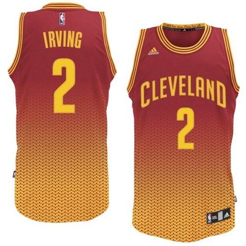 Cavaliers #2 Kyrie Irving Red Resonate Fashion Swingman Stitched NBA Jersey