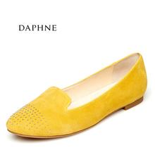 1015101014 舒适平底套脚女单鞋 达芙妮专柜正品 Daphne