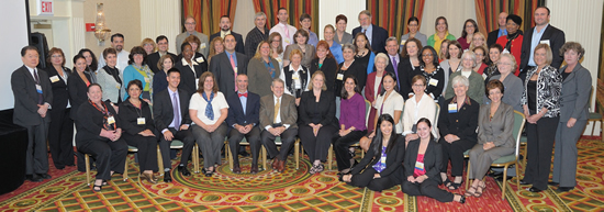 Photo of Coalition members and NIAMS staff.