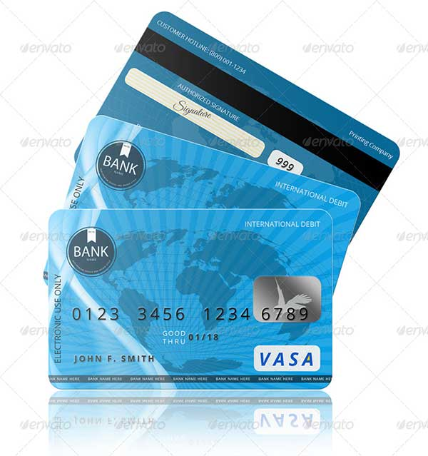PSD-Credit-Card-Template