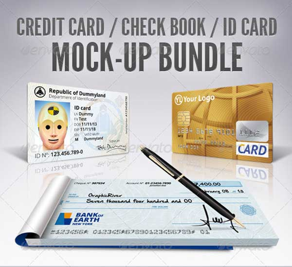2Credit-Card,-Check-Book,-ID-Mockup-Bundle