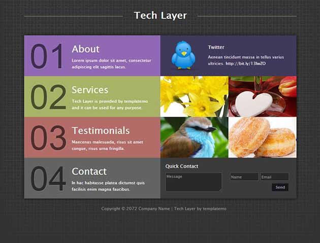 free-tech-layer-template