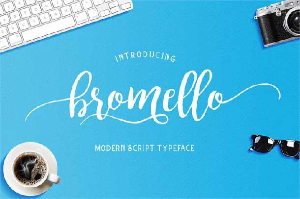 bromello-font