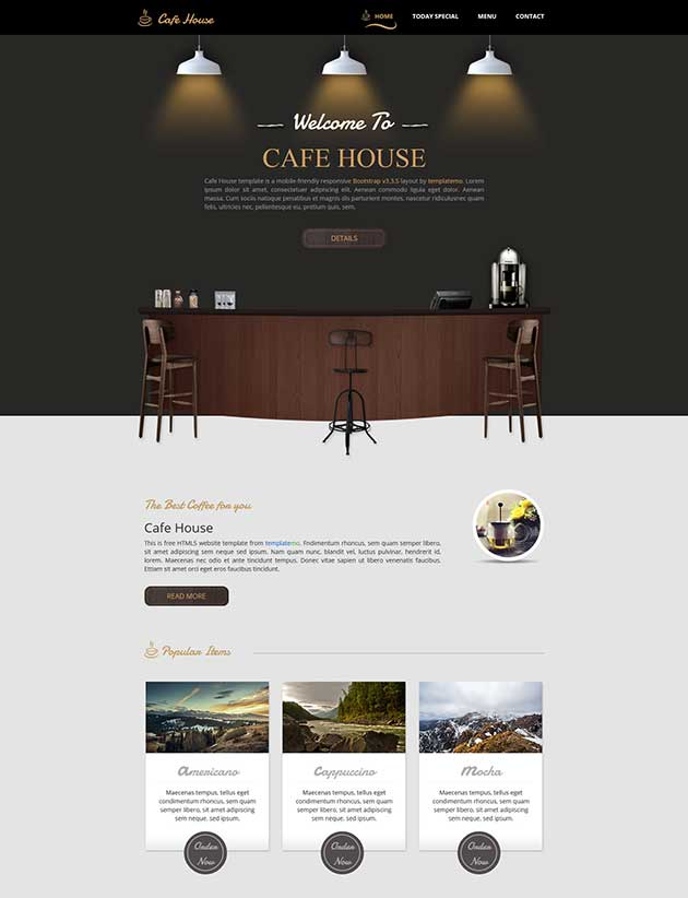 cafe-house-template