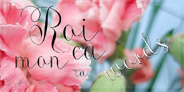 roicamonta-words-font