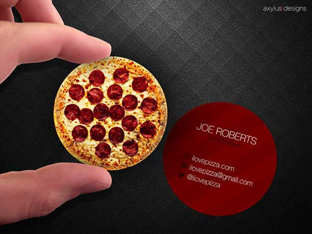 circular-pizza-business-card