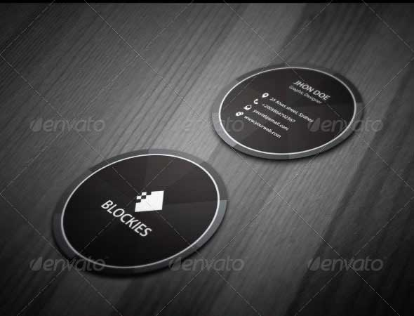 exclusive-circle-business-card