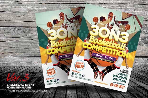 basketball-event-flyer-templates