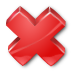 Red Cross HDPI Icon Android Format