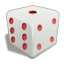 High Res 3d Dice