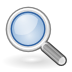 Android High Density Magnifying Glass Icon