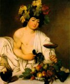 Baco  por Caravaggio