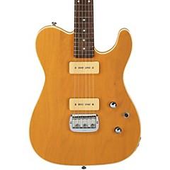 Tribute ASAT Deluxe Carved Top P-90 Electric Guitar Orange Cream