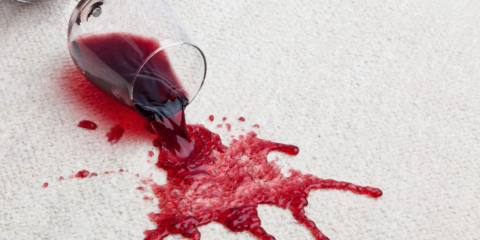 wine stains