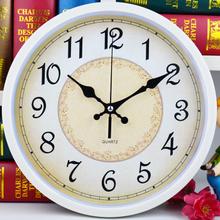 简约现代时钟卡通钟表康巴丝石英钟 静音挂钟客厅卧室挂表创意时尚