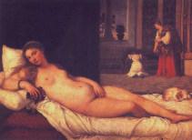"""""""Venus de Urbino"""", Tiziano"""