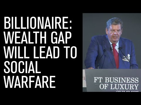 Billionaire Worried by AI and Unemployment, Says Wealth Gap Will Lead to Social Warfare