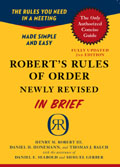 Robert's Rules In Brief cover image