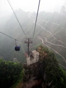 Фото: Гора Heaven's Gate, Китай