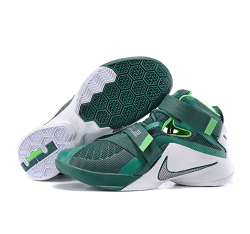 NIKE Lebron James 9 Soldier Green