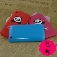 硅胶软套 苹果3手机壳 iphone3手机壳 硬壳 iphone3GS手机套 熊猫