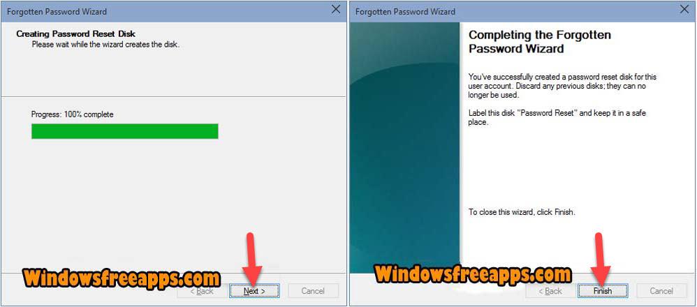 How To Create Password Reset Disk Windows 10