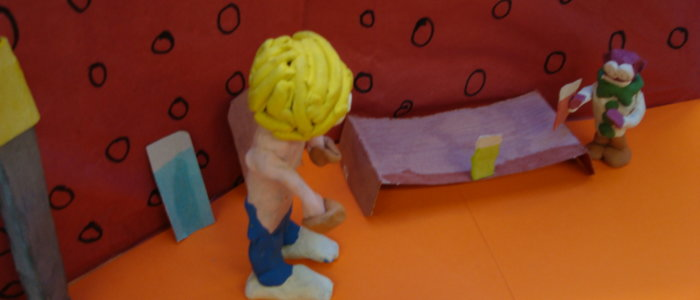 Clay Animation Still Frame