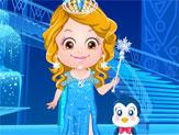 Baby Hazel: Ice Princess Dressup