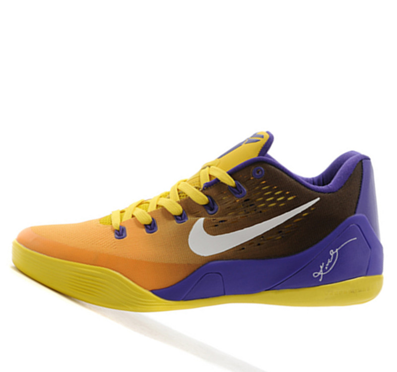 Nike Kobe 9 IX Low ndependence Day Yellow Blue