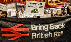 Protests against Southern rail