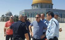 Erdan: Israel holds sovereignty over the Temple Mount
