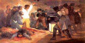 """""""Los fusilamientos del 3 de mayo"""" - Goya - 1814"""