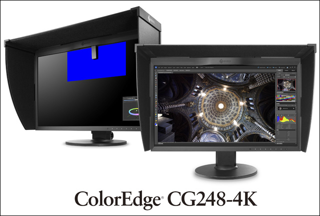 ColorEdge 4Kシリーズ全機種がHDR表示対応に(EIZO)