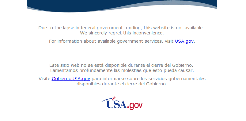 Government Websites and the Shutdown Showdown: Amber Alerts Down, 'Let's Move' Up