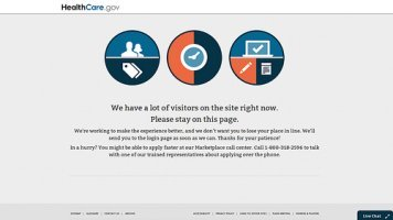 Beta Testing: Obamacare Website Has Problems from the Start