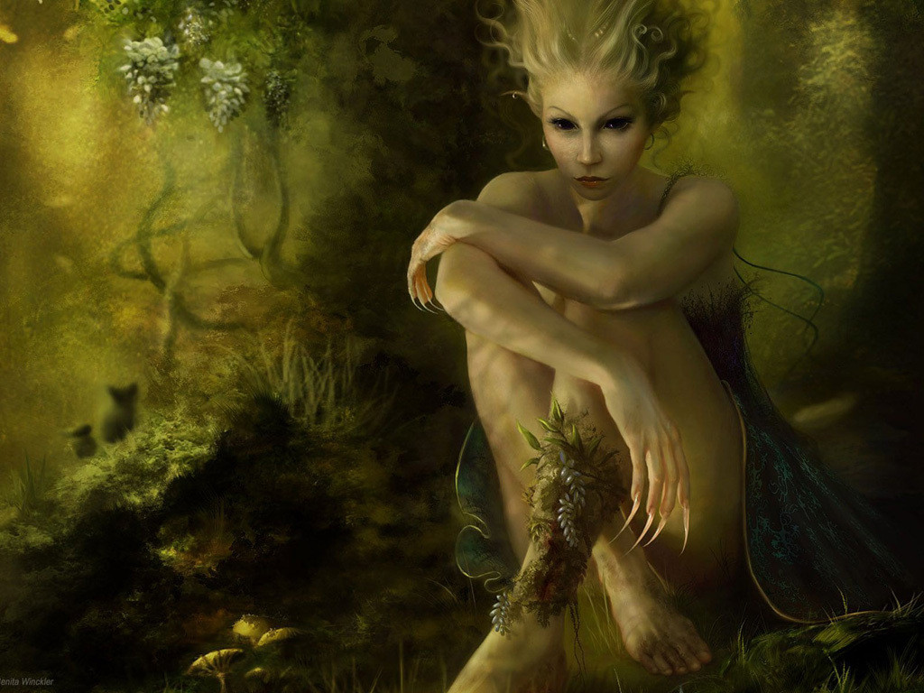 creepy pictures of Elves