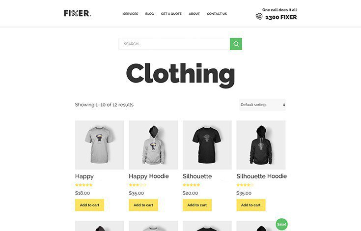 Start selling from Fixer with Upfront's 100% WooCommerce integration.