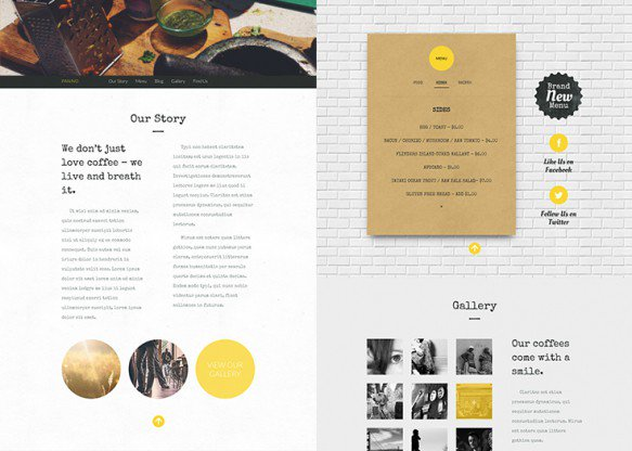 One-Pager-Layout