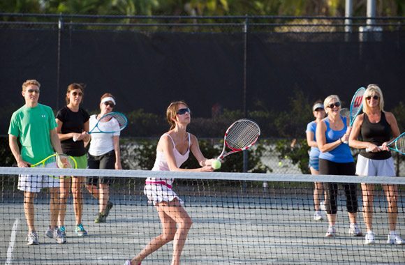 Learn to play with our Tennis 123 Class