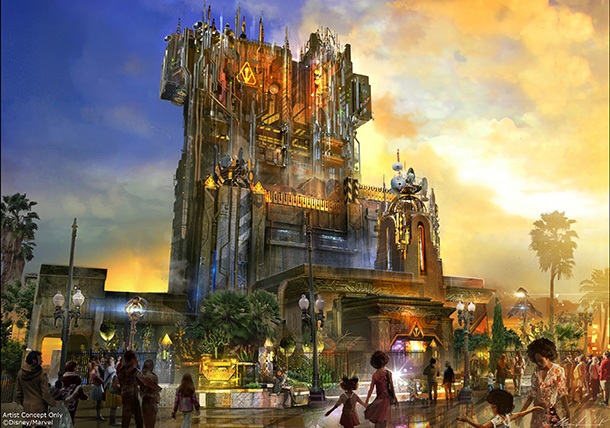 Guardians of the Galaxy Mission: Breakout at Disneyland