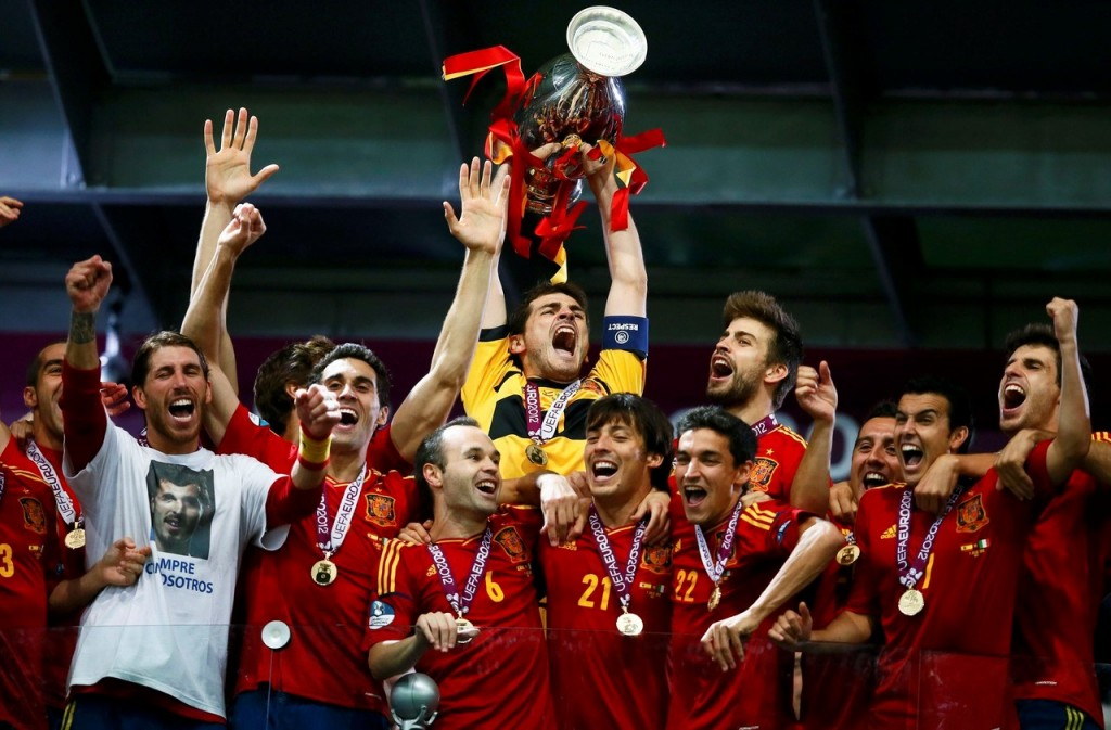 Spain will look to win the Euro for a third consecutive time.