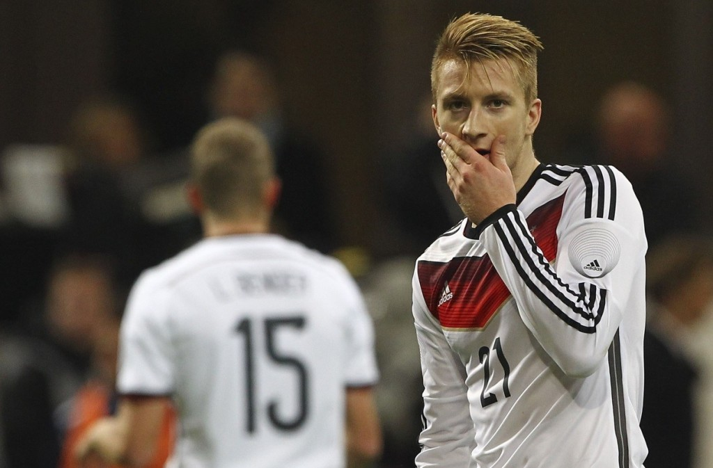 Germany dropped Marco Reus off the team hours after wishing him a happy birthday.
