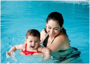 Preparing the Pool for Your Baby's First Swim