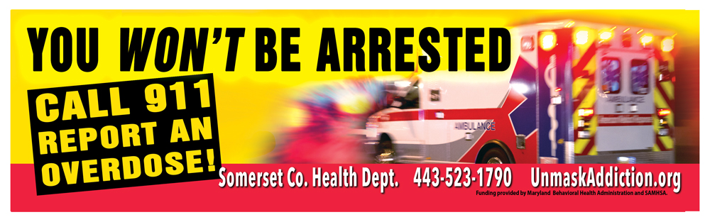 You won't be arrested. Call 911 to report an overdose!