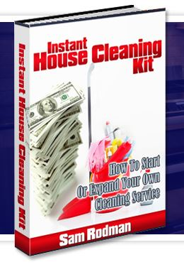 Instantly start a cleaning business
