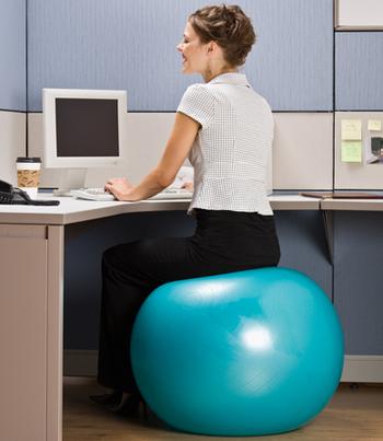 ballon-exercice-chaise-bureau